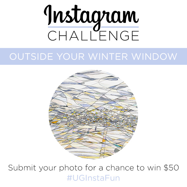 Instagram Challenge | Outside Your Winter Window | UncommonGoods