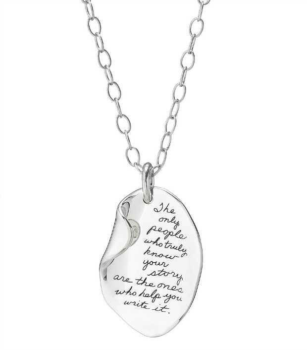 Your Story Necklace | UncommonGoods