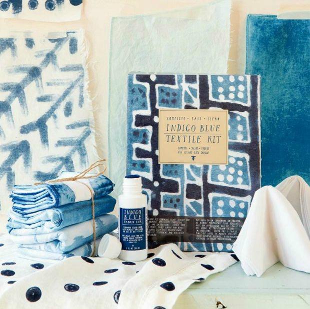 Indigo Textile Dye Kit | UncommonGoods