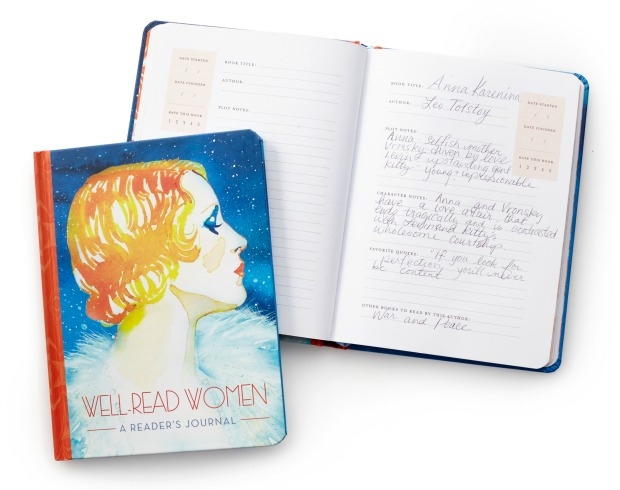 Well Read Women: A Reader's Journal | UncommonGoods