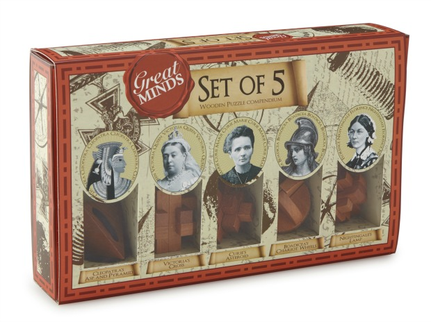 Great Minds Puzzles - Women in History | UncommonGoods