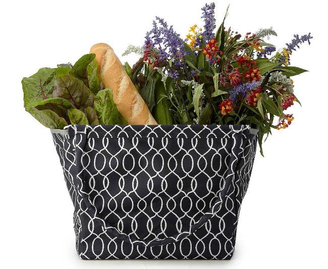 Foldable Market Basket | UncommonGoods