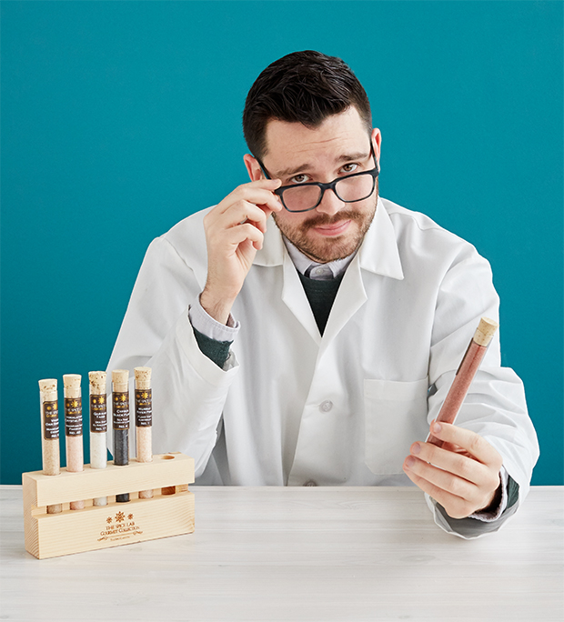 Salts of the World Test Tube Set | UncommonGoods