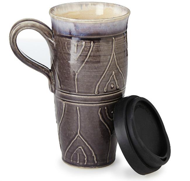 Stoneware Travel Mug | UncommonGoods