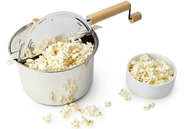 Stovetop Popcorn Popper | UncommonGoods
