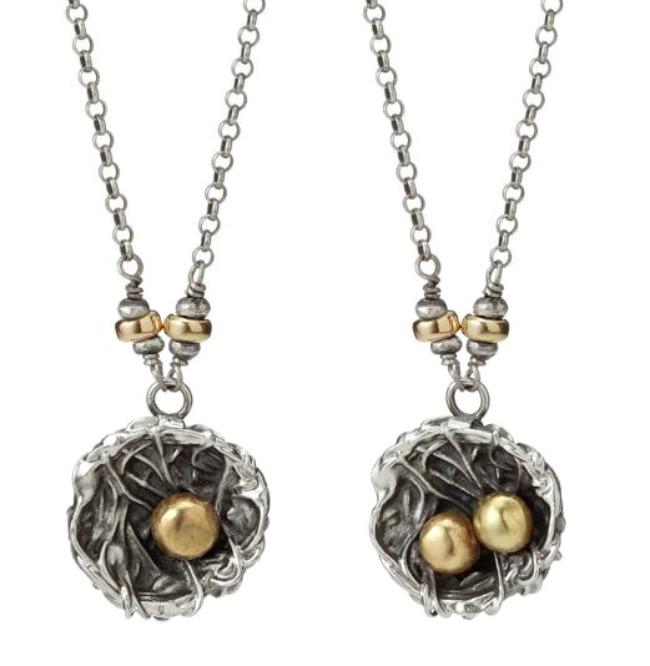 nest family necklace