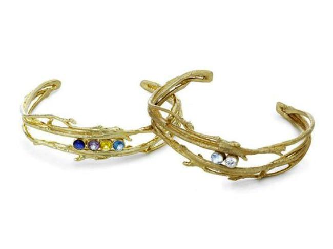personalized branch bracelet