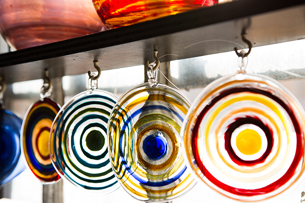 Bullseye Suncatchers by Jim Loewer | UncommonGoods