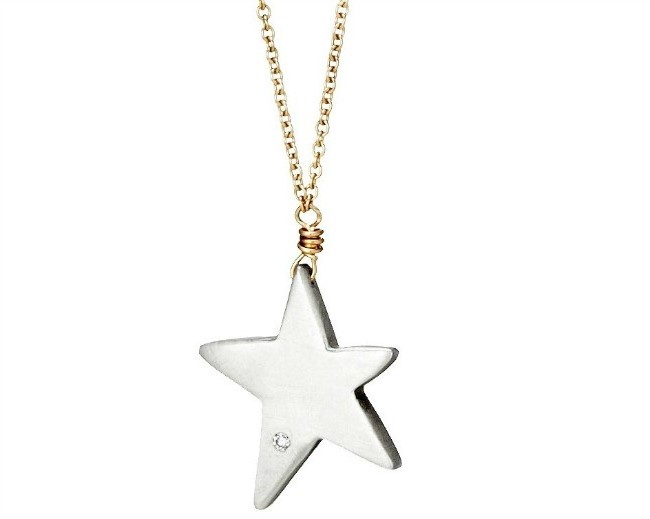 Wish Upon A Star Diamond Necklace | UncommonGoods