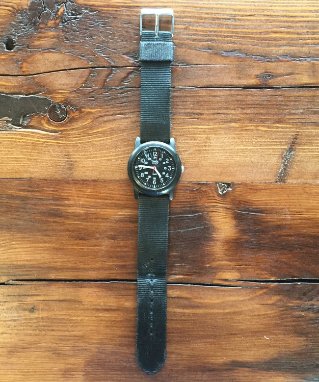 Eric Prum's Timex watch | UncommonGoods