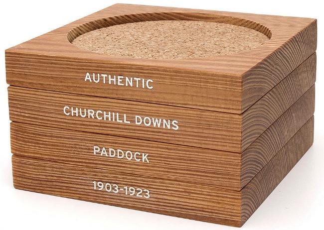 Kentucky Derby Churchill Downs Coaster Set | UncommonGoods