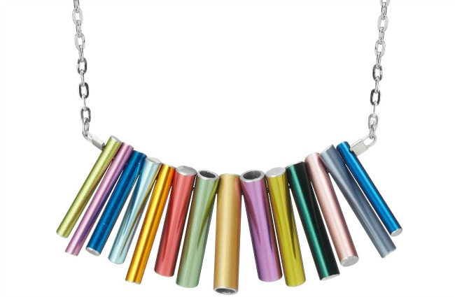 Knitting Needle Statement Necklace | UncommonGoods