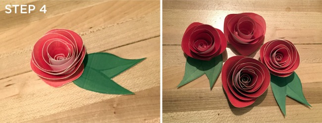 DIY Paper Flowers: Roses, Step 4 | UncommonGoods
