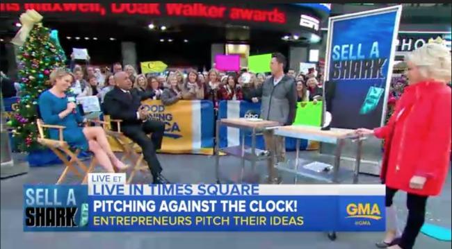Tom Medwin on Good Morning America in December, 2015.