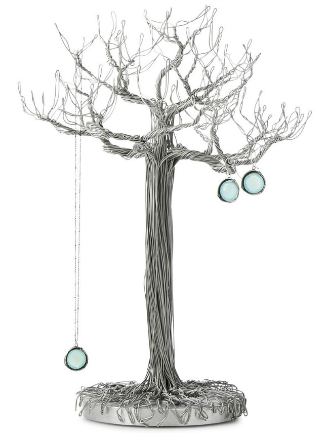 Wire sculpture Jewelry Tree | UncommonGoods