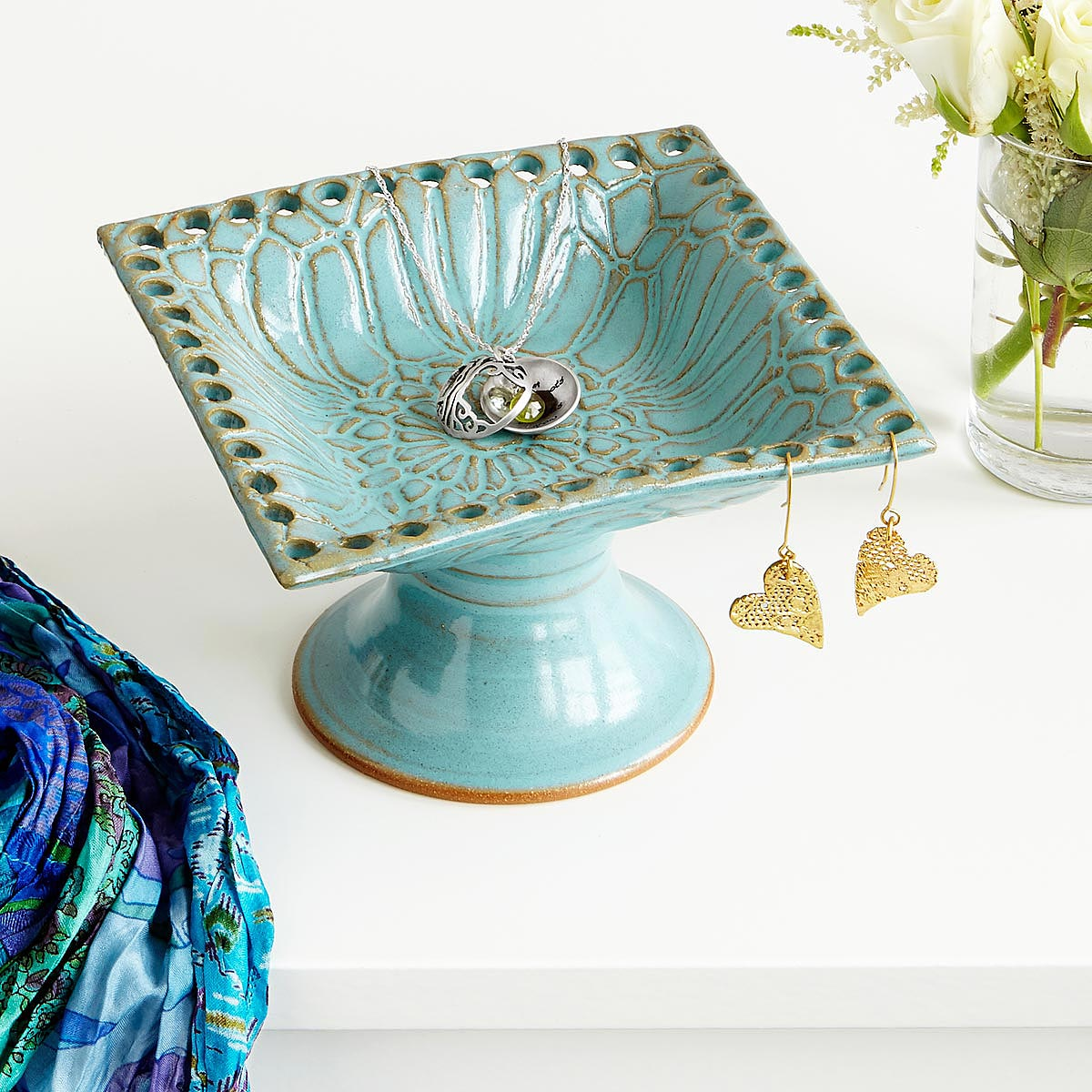 Pedestal Jewelry Holder | UncommonGoods