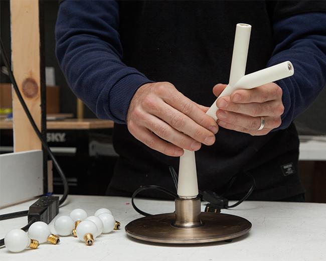 Assembling the Splyt Lamp