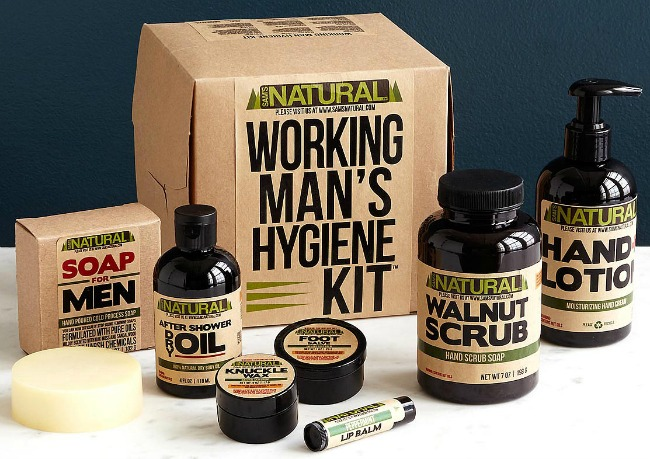 Working Man's Hygiene Kit | UncommonGoods