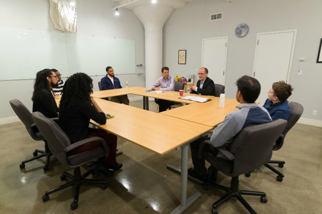 Secretary Perez Meeting UncommonGoods employees