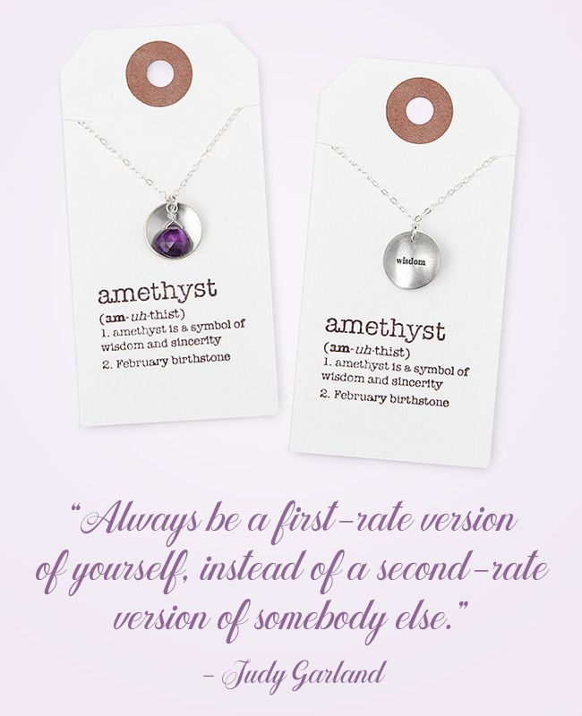 Judy Garland Inspirational Jewelry - Necklace