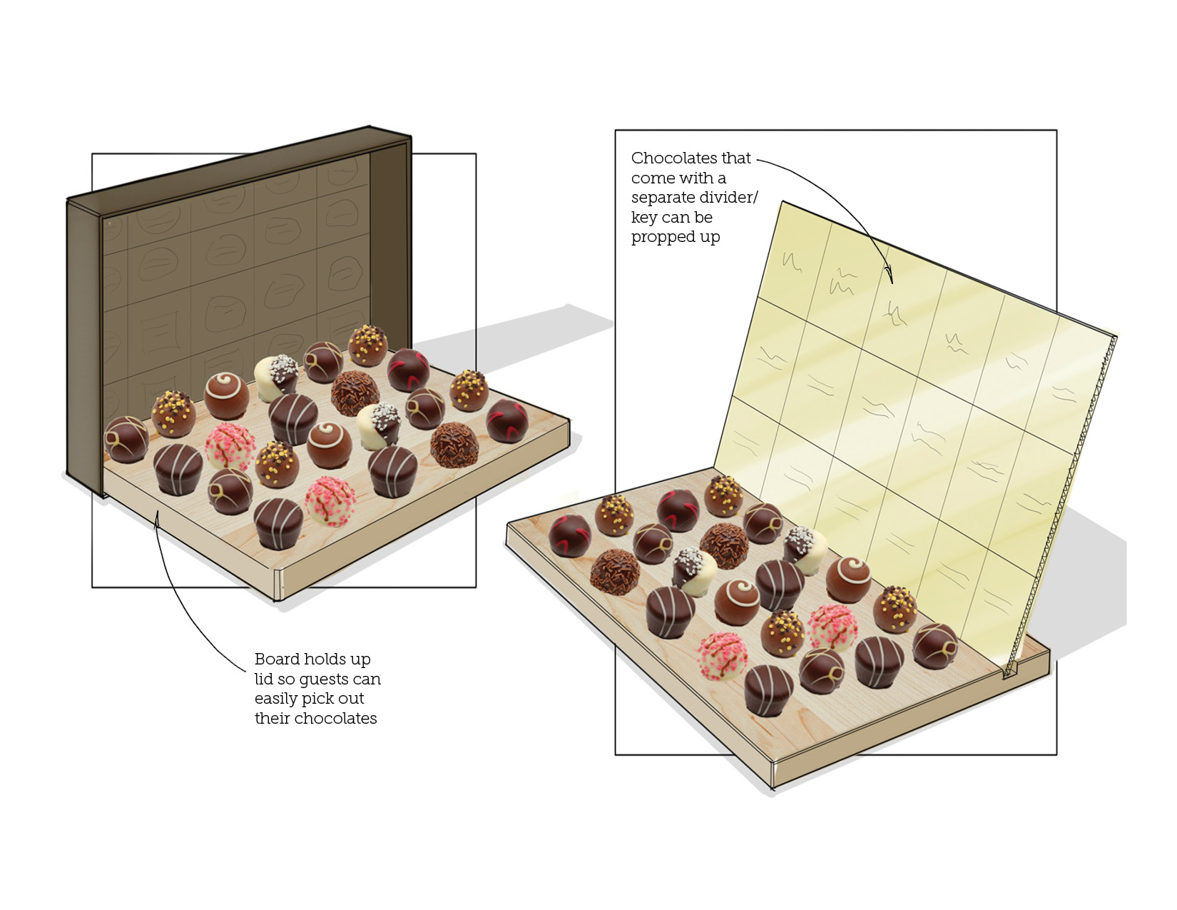 Early Concept | Amazing Chocolate Server