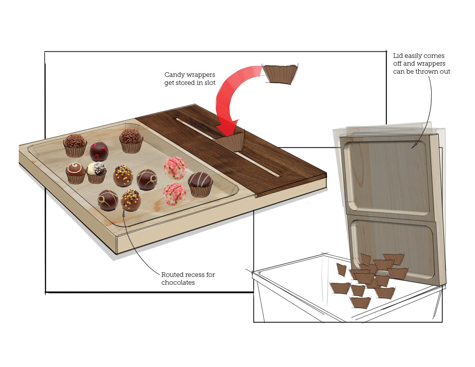 Chocolate Server Concept 3