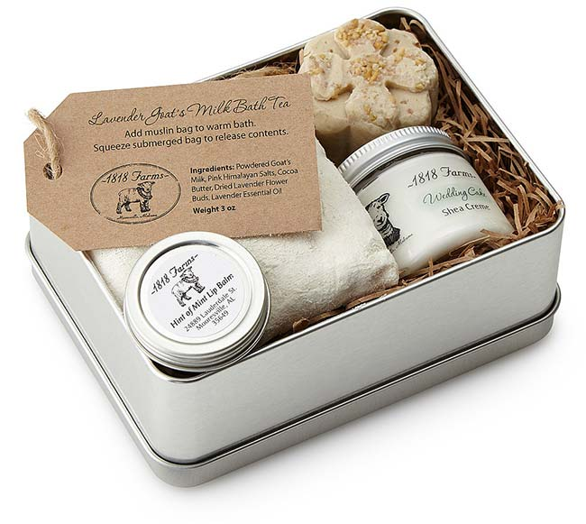 Farm Fresh Spa Experience Tin | UncommonGoods