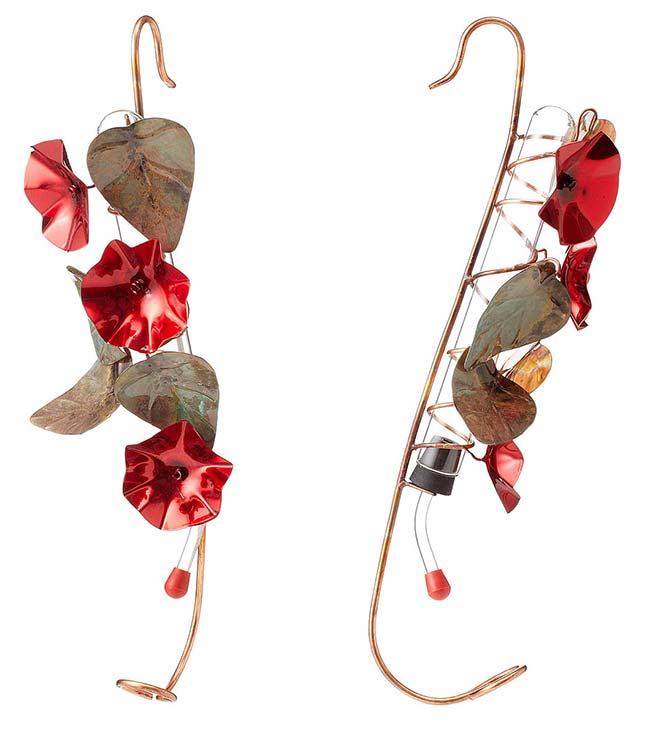 Copper Hummingbird Feeder | UncommonGoods