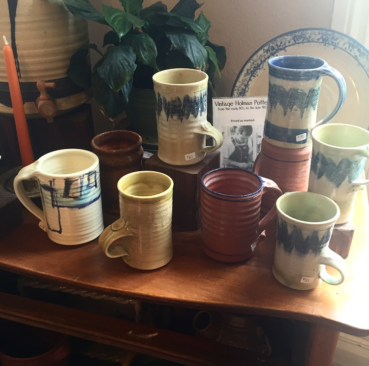 Vintage Tony Holman Pottery