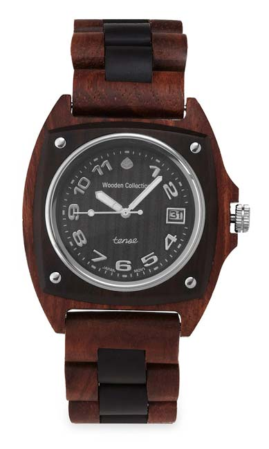 Trail Wood Watch | UncommonGoods