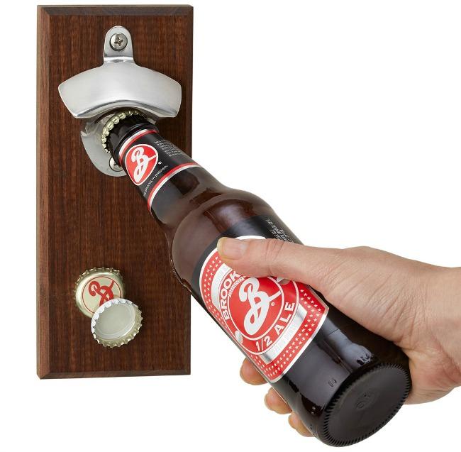 Magnetic Bottle Opener | UncommonGoods