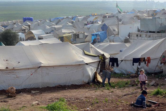A Syrian Refugee Camp | Photo via IRC