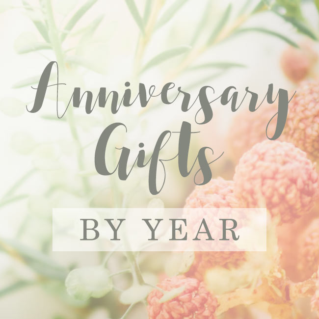 Gift Guide Wedding Anniversary Gifts By Year The Goods