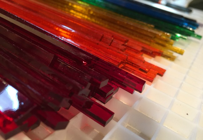 Over the Rainbow Paperweight   UncommonGoods