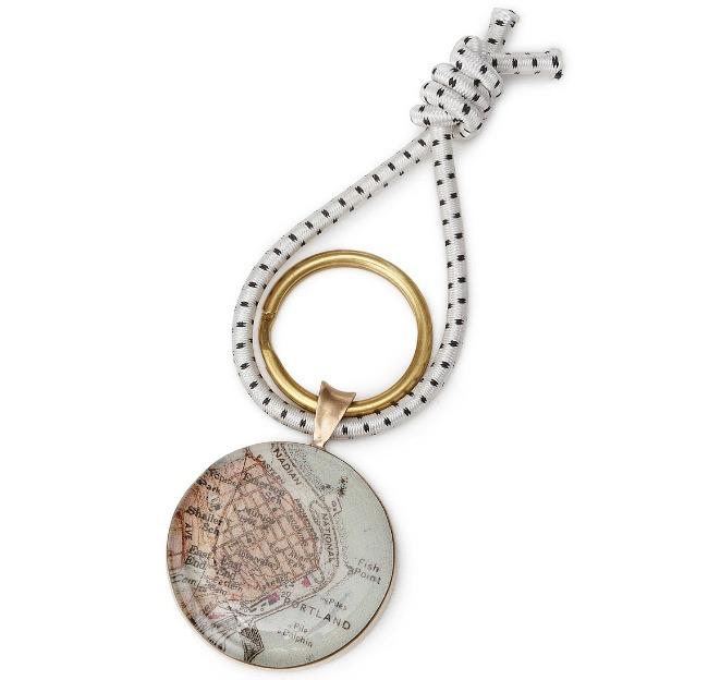 Custom Map Key Ring | UncommonGoods
