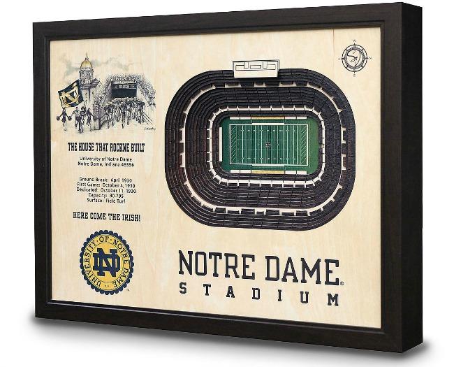 College Football Stadium Art | UncommonGoods