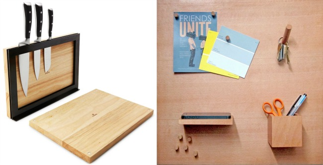 Magnetic Cutting Board and Free Floating Bulletin Board | UncommonGoods