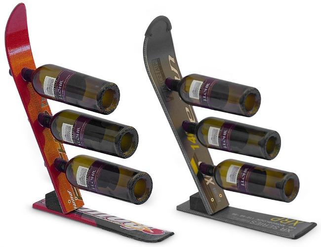 Snow Ski Wine Rack | UncommonGoods
