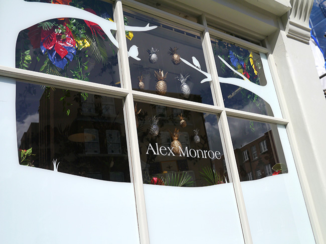 Alex's storefront