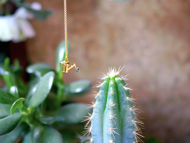 How Does Your Garden Grow? Necklace by Alex Monroe | UncommonGoods