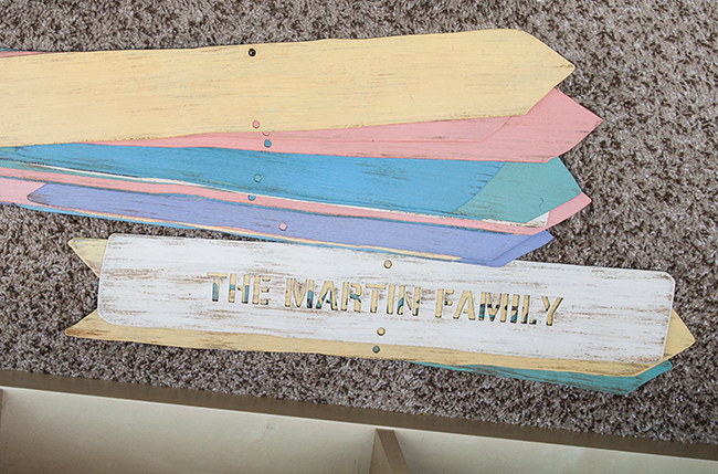 Personalized Family Member Sign Post | UncommonGoods