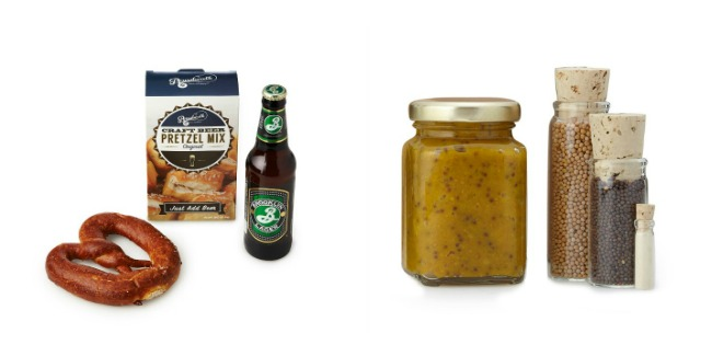 Craft Beer Pretzel Mix and Make Your Own Mustard Kit
