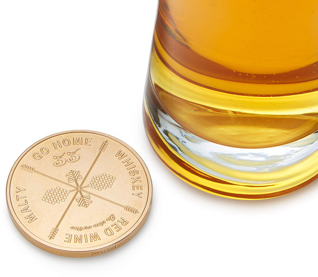 Drinking Decision Coin - UncommonGoods