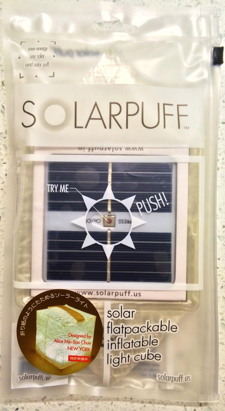Solarpuff Flat Pack