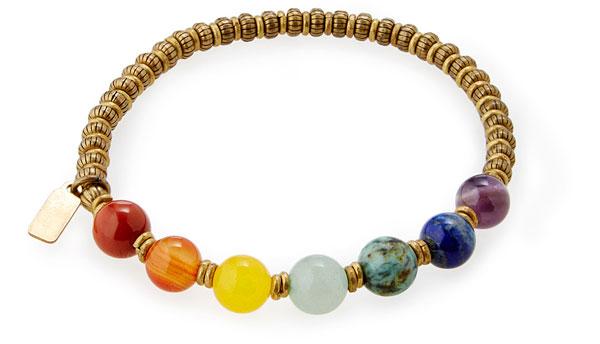 Chakra Gemstone Bracelet - UncommonGoods