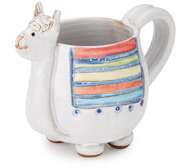 Llana the Llama Mug | UncommonGoods