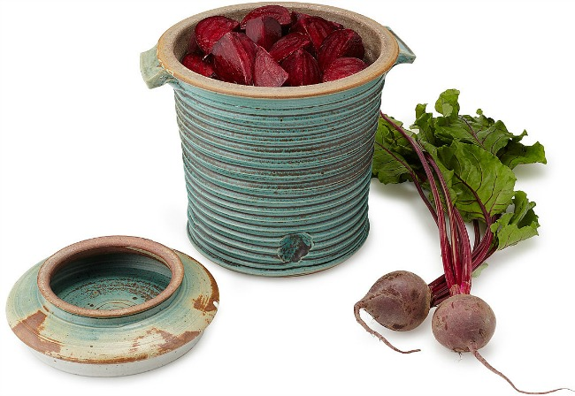 Stoneware Fermenting Crock - UncommonGoods