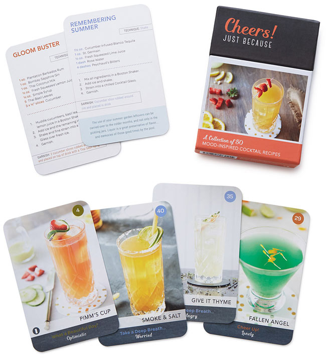 Cocktail Recipe Cards | UncommonGoods