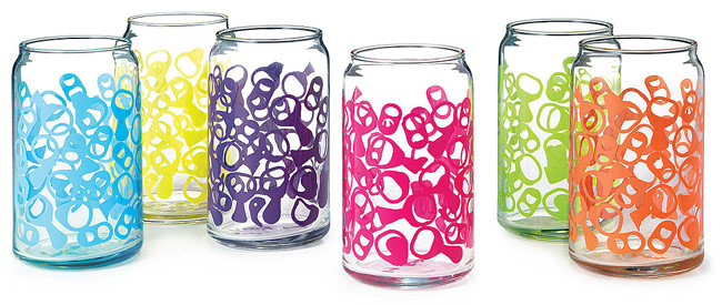 Pop Top 6 Pack Glasses - UncommonGoods