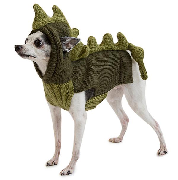 Dinosaur Pet Sweater - UncommonGoods